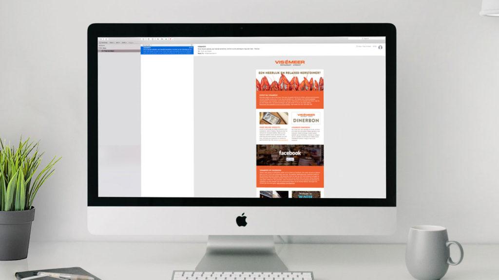 Vis&Meer - digitale nieuwsbrief desktop
