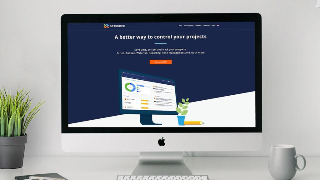 GetScope - website