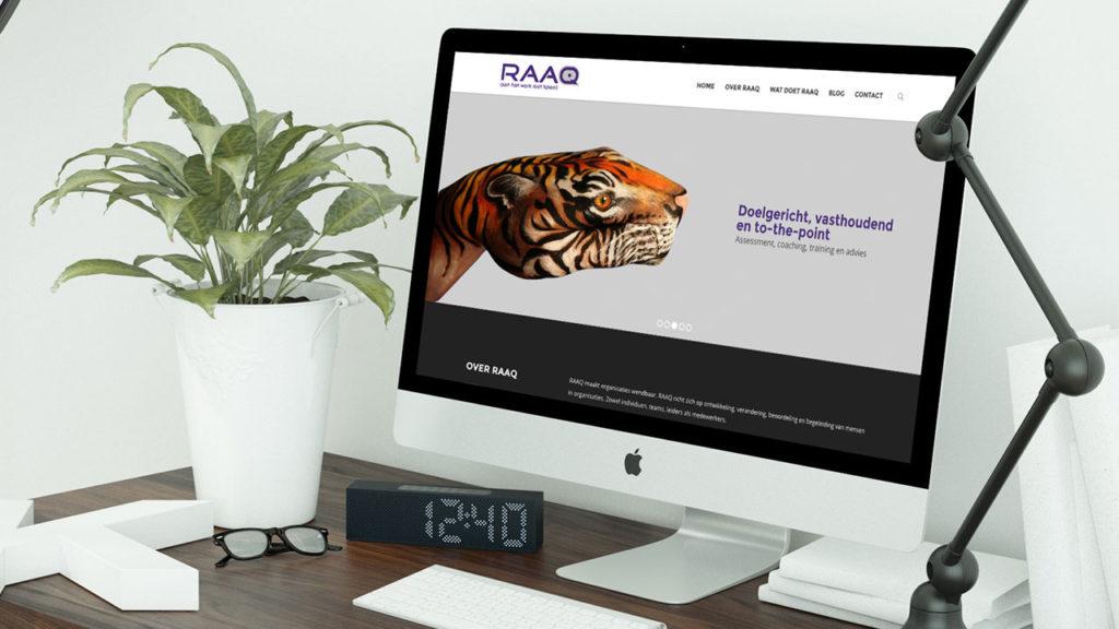RAAQ website - desktop