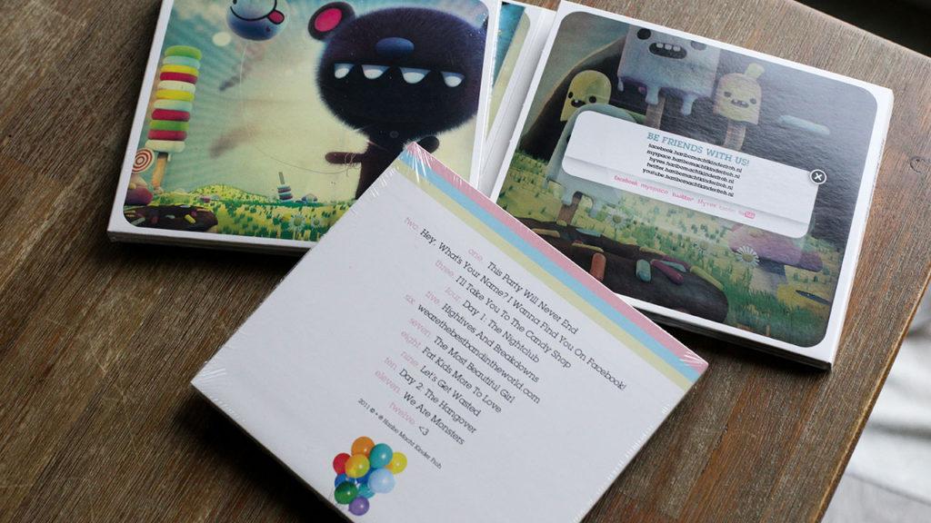Harbo Macht Kinder Froh - CD artwork